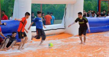 soap football