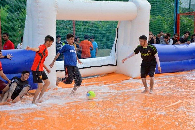 soapy football