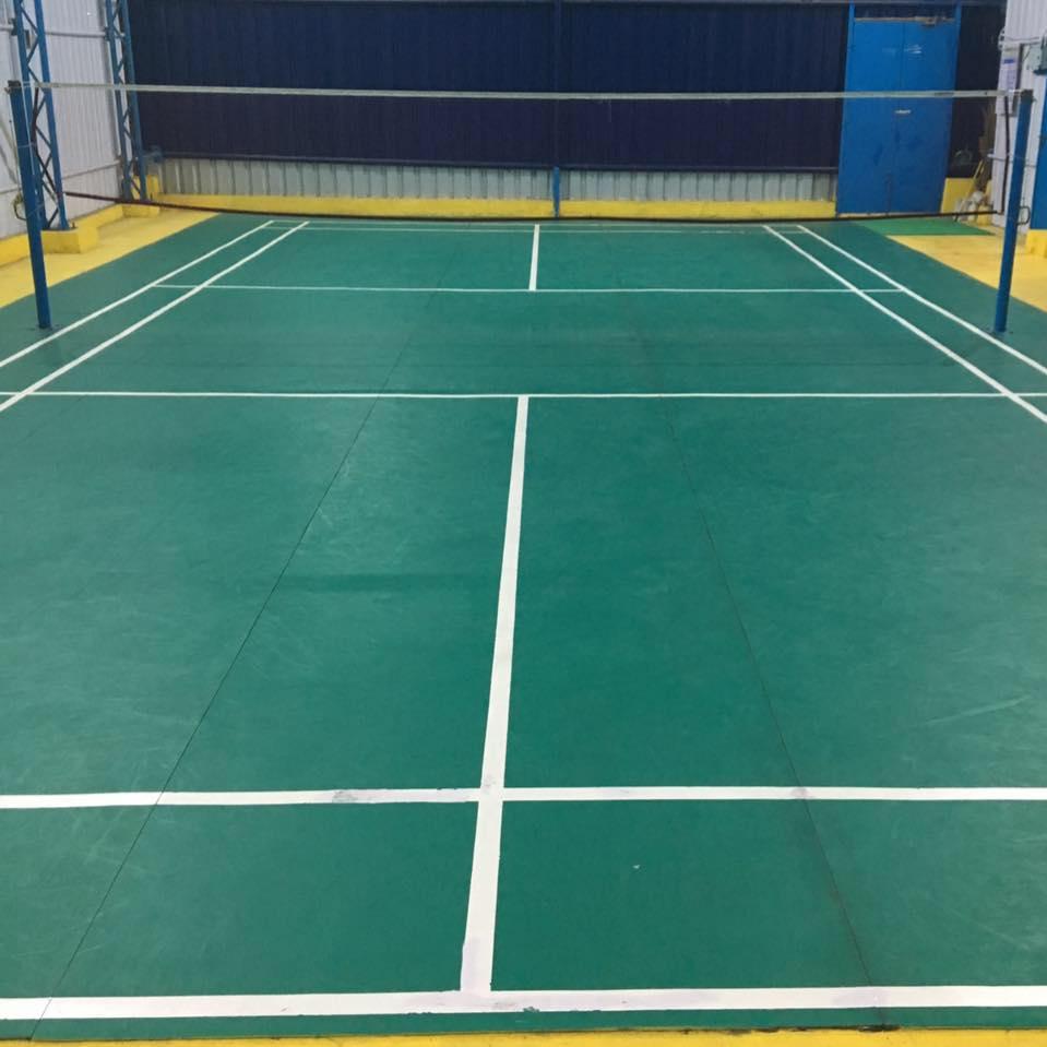 T slot badminton