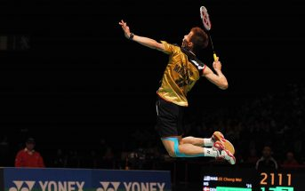 Lee chong wei smash