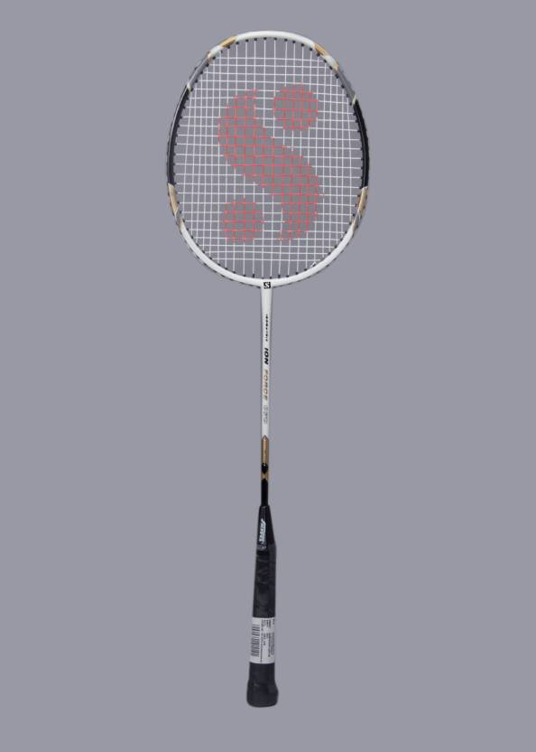 Silver's Isometric Ion Force 070 G3 Strung Badminton Racquet