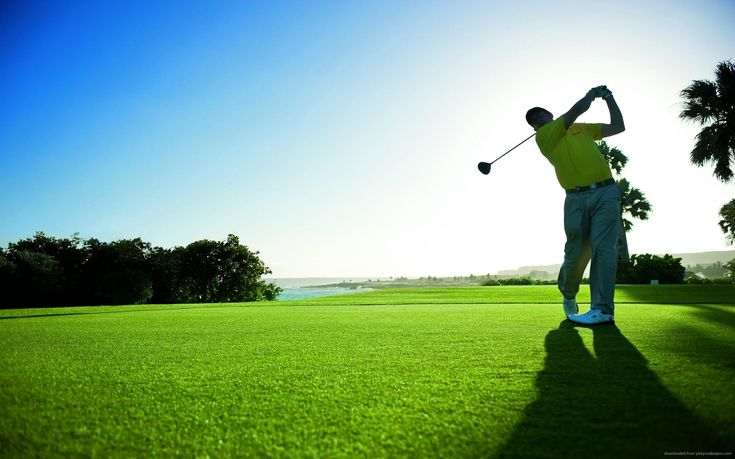 golf helps boost vitamin D