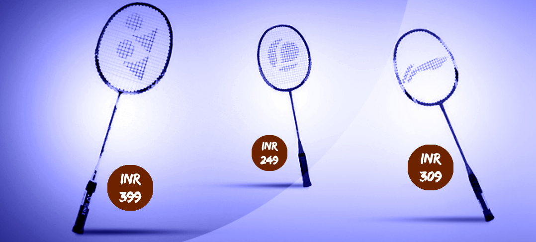 badminton rackets under 500 rupees