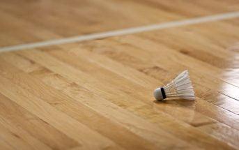 types of badminton courts