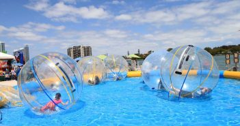 water zorbing in bangalore