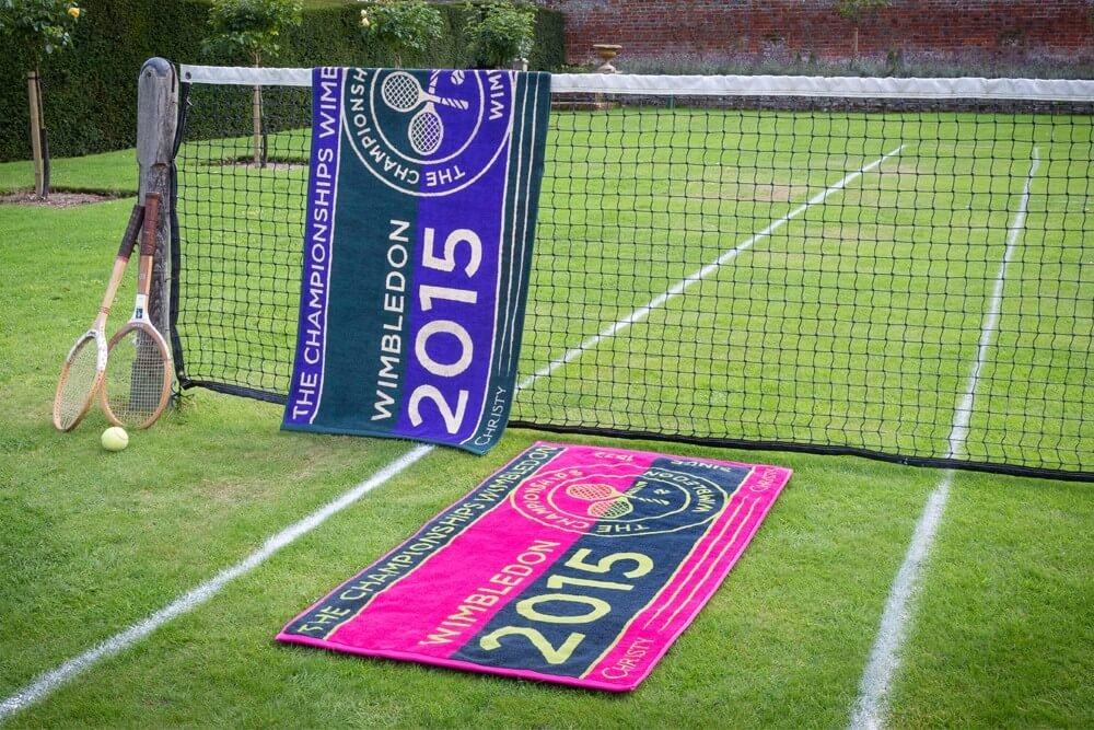 wimbledon tennis towels