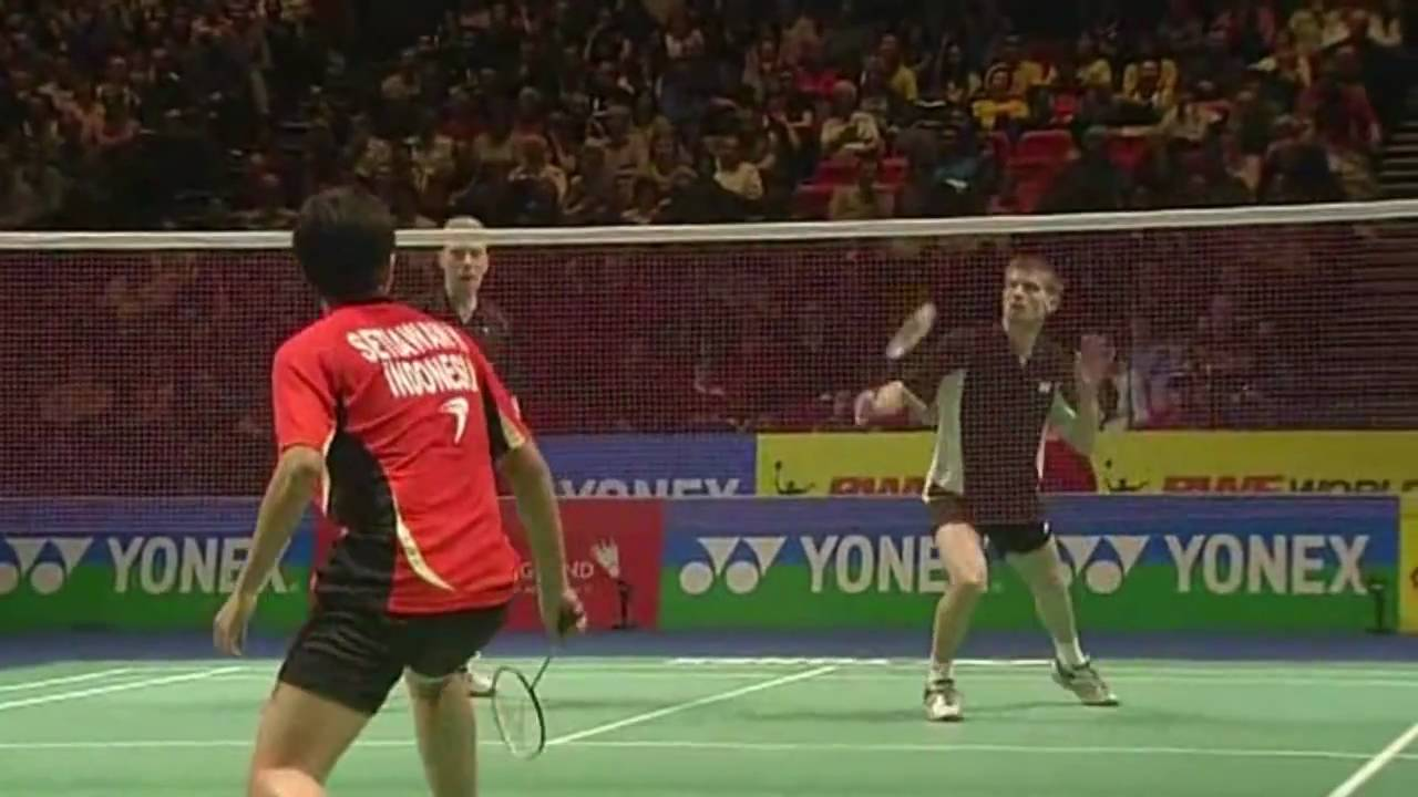 badminton half court rallies