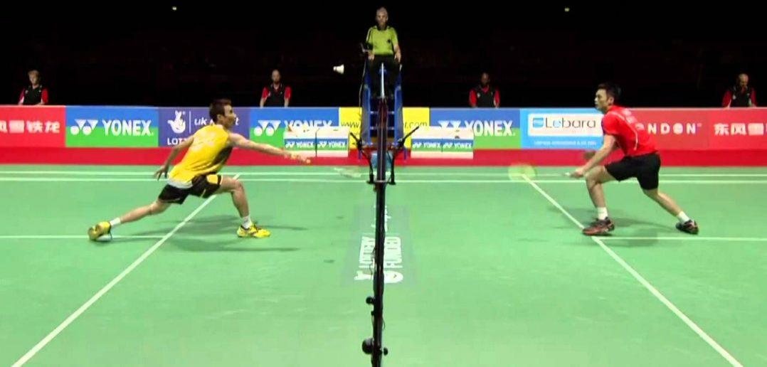 badminton net shots