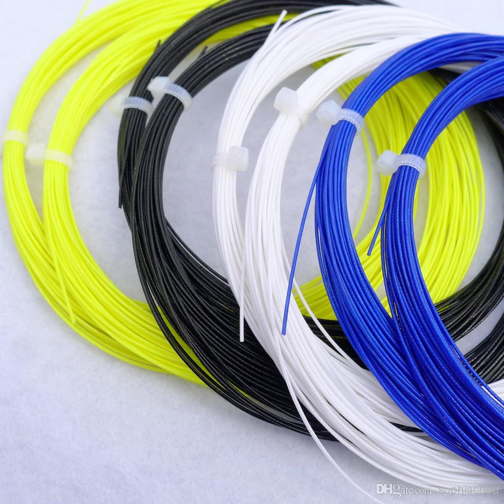 badminton strings colours