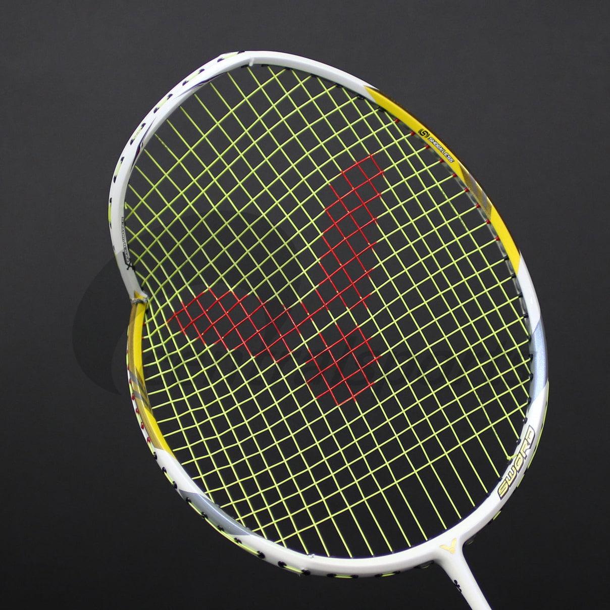 broken badminton rackets
