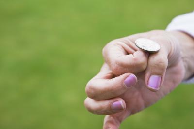 coin toss in badimton