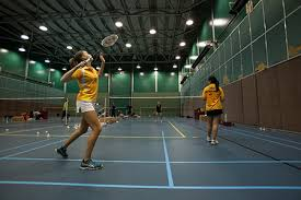 indoor sport badminton