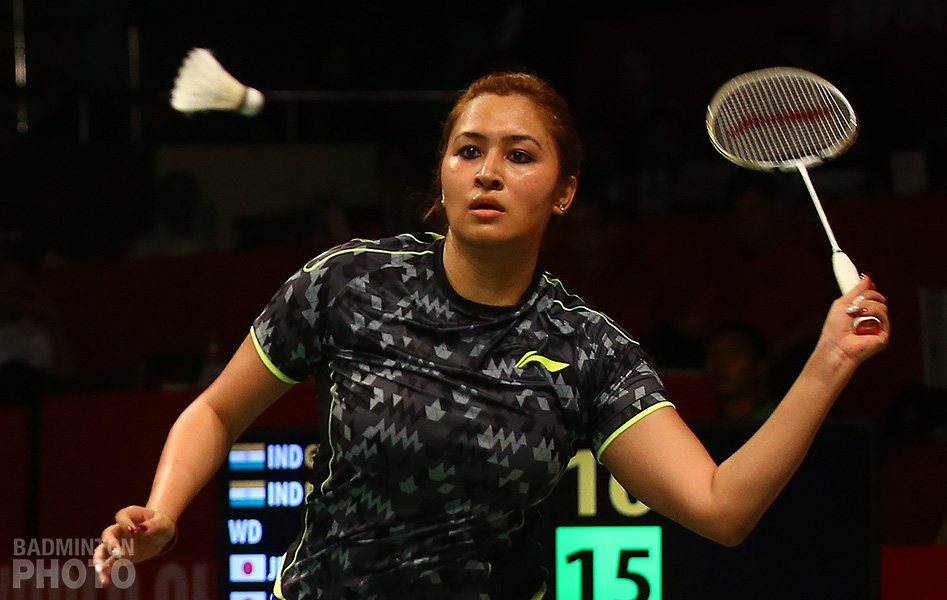jwala gutta with li ning racket