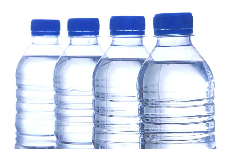Bottled Water In Line
