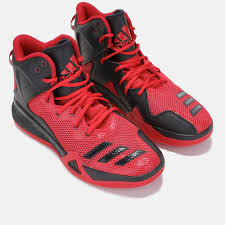 adidas dt mid red basketball shoes