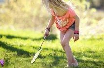 badminton kid