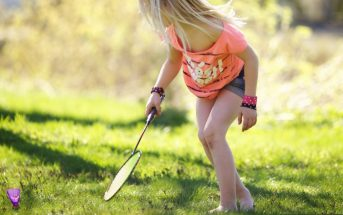 badminton kid