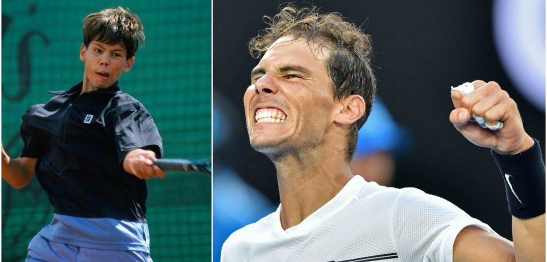 nadal collage tennis stars