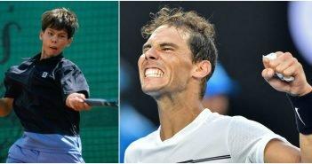 nadal collage tennis stars