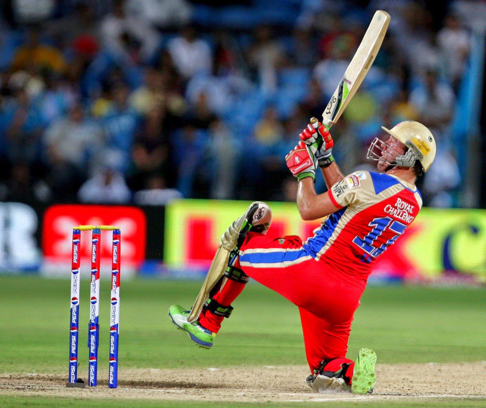 Reverse scoop – AB De Villiers