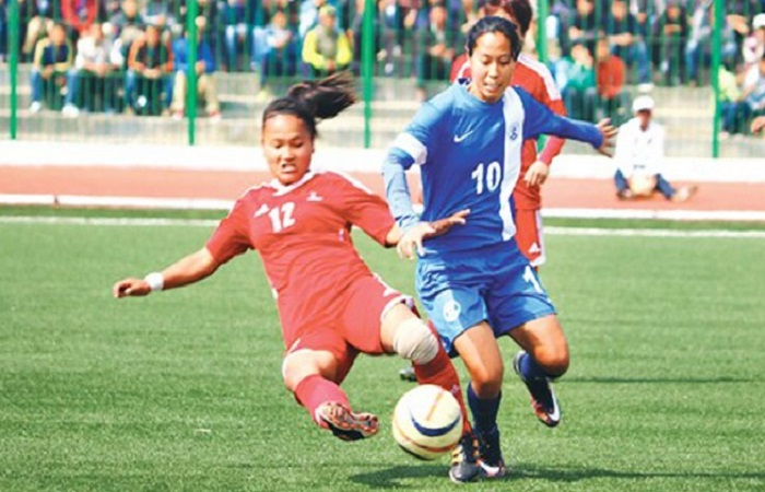 indian women's football players