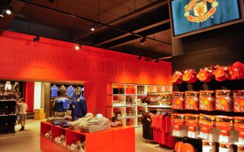 manchester united football merchandise