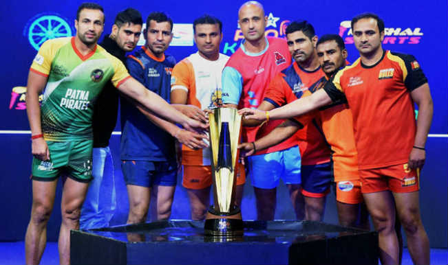 pro kabaddi league captains
