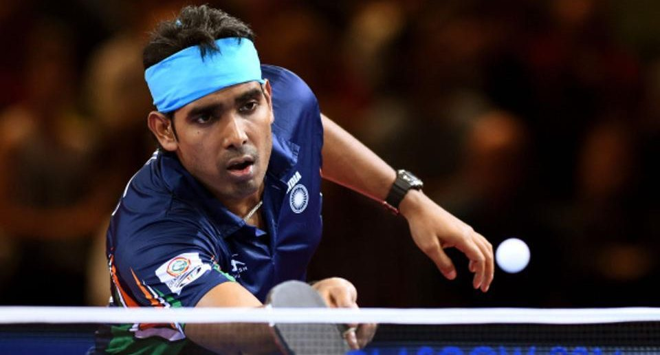 Sharath Kamal Indian Table Tennis Players