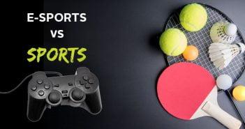 e-sports vs sports