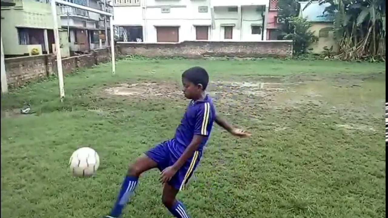 indian kids football training