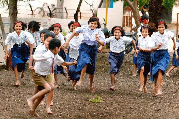kids playing sports in india
