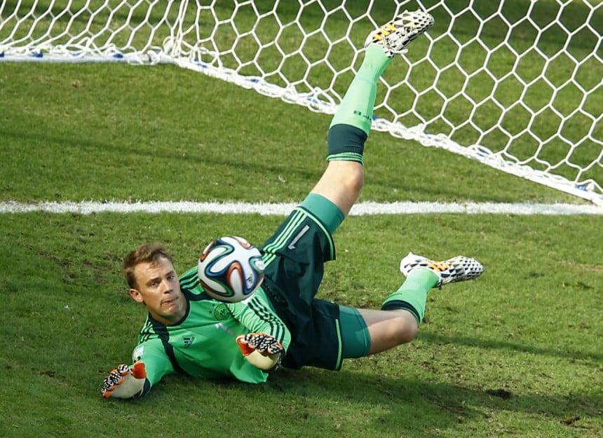manuel neuer goalkeeper