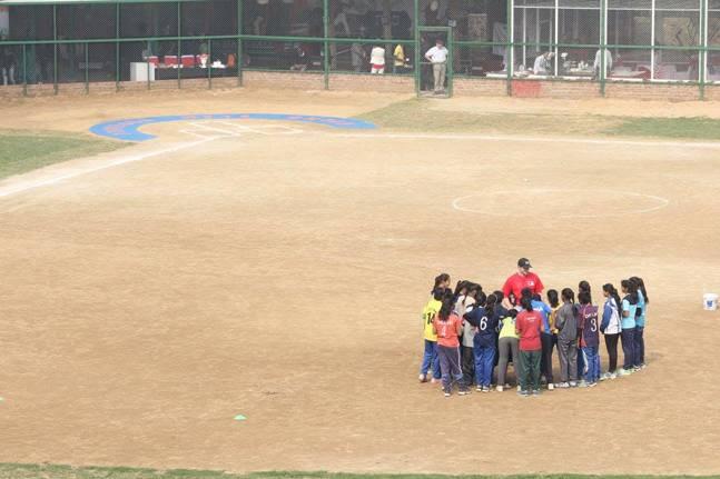 Baseball field new delhi
