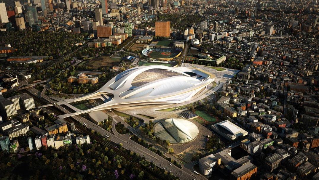 tokyo olympics stadium