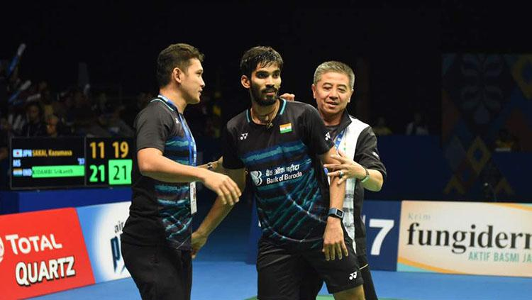 Srikanth with Mulyo Handoyo