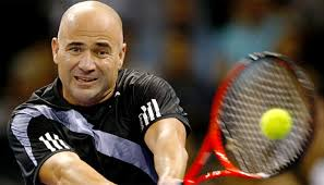 andre agassi playing