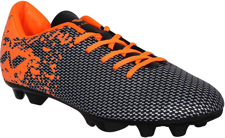 nivia orange black