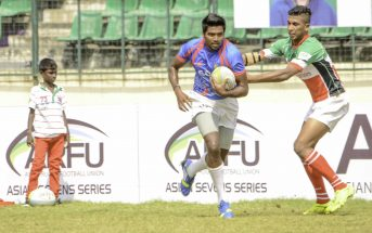 Roshan Lobo Indian rugby team