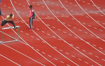 Synthetic athletic track Delhi