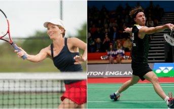 tennis vs badminton