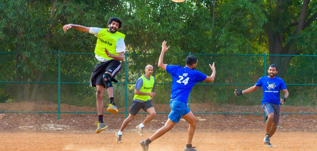 ultimate frisbee venues bangalore