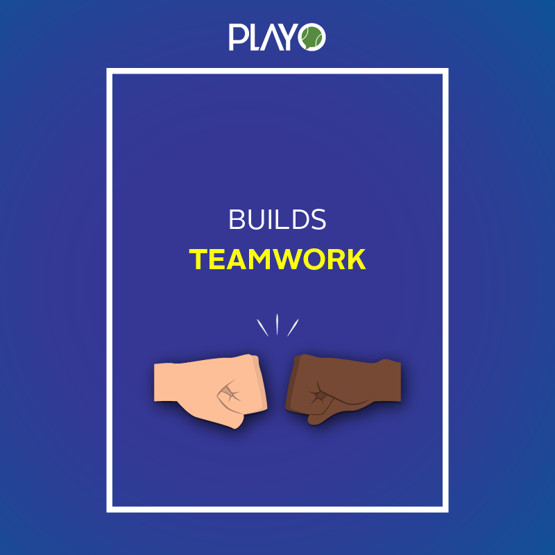 builds teamwork