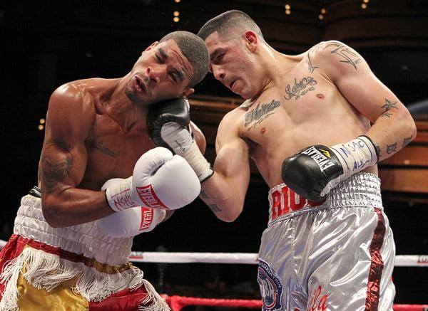 Uppercut in boxing