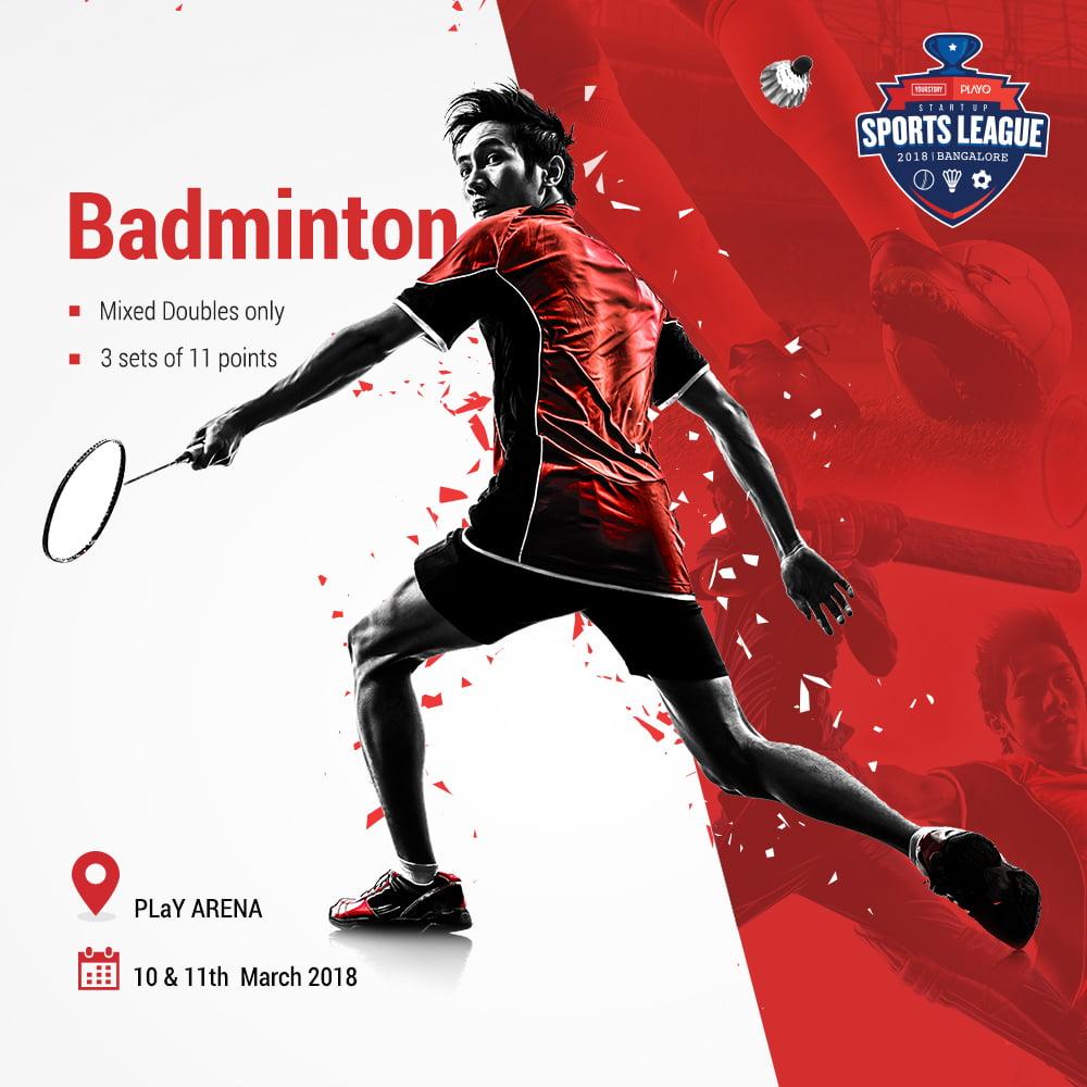 Badminton- #SportsLeague