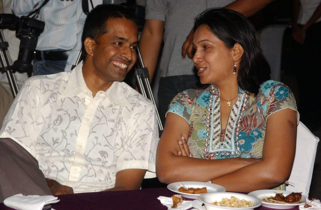 PVV Lakshmi and Gopichand- Sporty Couple.