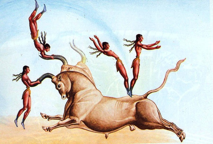 Cretan Bull Leaping- Ancient Sports