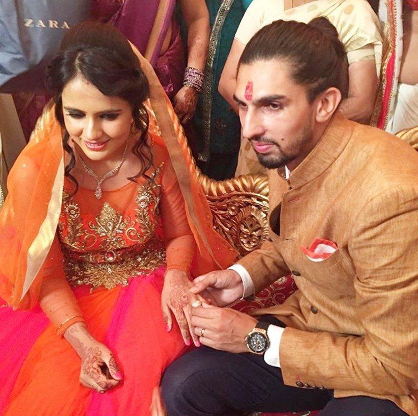 Ishant Sharma and Pratima Singh- Sports Couple