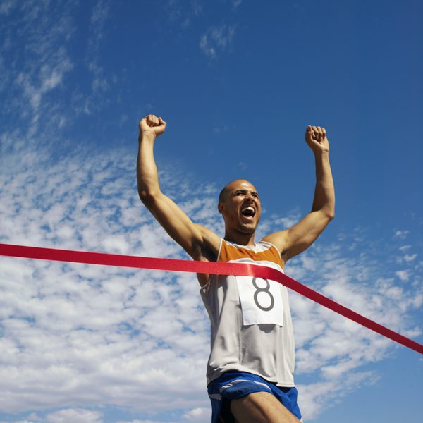 Finishing- 5K Run