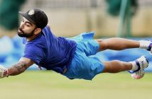 Virat Kohli Cricket Warm-Up