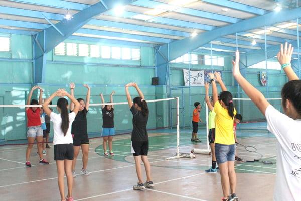 Warm-Up Badminton Tips